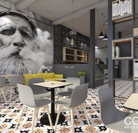THE CAFÉ – INTERIOR DESIGN