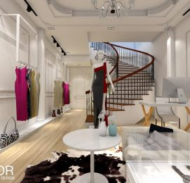 FOXHOUSE SHOP FASHION – INTERIOR DESIGN