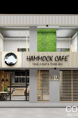 HAMOOCK CAFE – INTERIOR DECOR