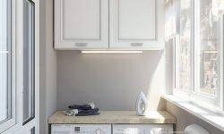 Tư vấn thiết kế chổ máy giặt ban công chung cư.